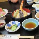 海鮮料理 竹ノ内 - 天ぷら刺身定食