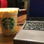 スターバックスコーヒー - 2015/08 スターバックス ラテ -ICED- Tall ¥370(税込 ¥399)