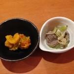 四季酒菜 風土 - 小鉢2品
