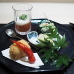 銀座 よし澤 - 前菜盛り合わせ