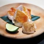 銀座 よし澤 - 金目鯛の焼き物