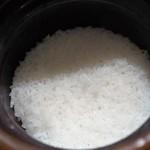 銀座 よし澤 - 炊き立てご飯