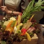 40870711 - 15種の野菜盛り!新鮮!