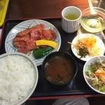 焼肉うえむら - ロースランチ定食 5種類のセット