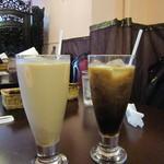 ノルジャハン - アイスチャイ&アイスコーヒー♪
