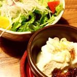 40871614 - 野菜サラダ お豆腐