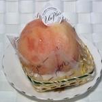40871724 - まるごと桃のデザート