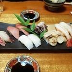 磯寿し - 料理写真:上にぎり
