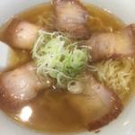 喜多方ラーメン 坂内 - 喜多方らーめん 細麺