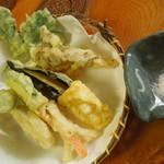 花尋庵 - 野菜天ぷら