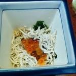 Taiyoshihyakuban - お通し(オードブルと併せて1000円)