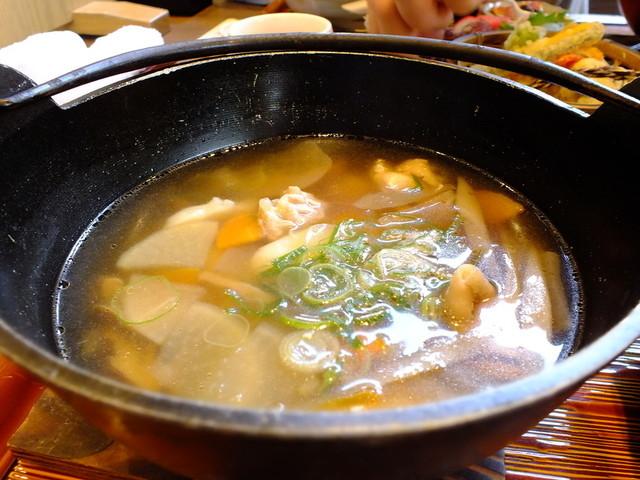 櫻道 - 大阿蘇鶏団子汁