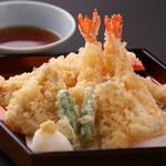 魚王KUNI - 天ぷら盛合せ