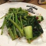 40876168 - 空芯菜と青梗菜の炒め