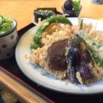 あん - 天ザル蕎麦  1250円