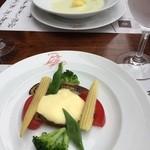 燕三条イタリアン Bit - サラダとスープ
