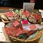 ◆全国から直送!かご盛り 一本魚