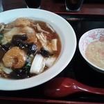 小龍門 - 中華飯セット700円