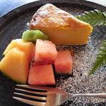 たんぽぽ - 自家製チーズケーキ