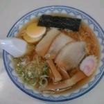 千秋麺:ランチパスポート提示で定価756円→540円(税込)【2015年8月撮影】