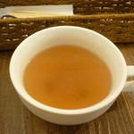 Youshokuyanakamura - ランチセットのスープ