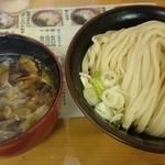 四方吉うどん - 2015.8 肉汁うどん並