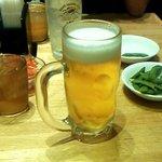 らーめん酒家 驛麺 - ビールセット