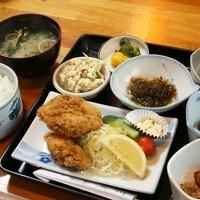 旅館とみ川-カキフライ定食