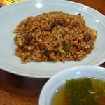 洋食屋 New 狸 - ヤキメシ スープ付(850円)