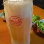 沖縄宮古島料理がちまやー桃太郎 - 先ずは乾杯~