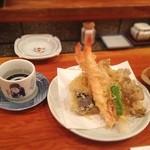 山海 - 天ぷら盛り合わせ