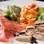 イルコルティーレ - イタリア前菜の盛り合わせ