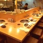 松阪牛網焼きおくやま - 寿司屋じゃないよ‼︎松阪牛専門カウンター焼肉