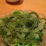 沖縄宮古島料理がちまやー桃太郎 - 海ブドウ