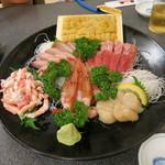 40887780 - お刺身の盛り合わせ(魚真盛り)6200円