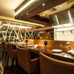 sumile TOKYO - オープンキッチンカウンター席