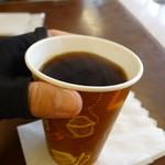 境川パーキングエリア (上り線) - 眠気覚ましのコーヒー