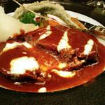 レストラン アラスカ - 【3】タンシチュー(Aコース8000円+税サ)2015.6月