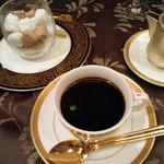 レストラン アラスカ - 【5】カフェ(Aコース8000円+税サ料)2015.6月2015.6月