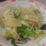 中国麺家万天 - 野菜炒め(単品)☆