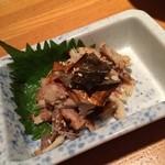 羅漢 - 鯖の燻製