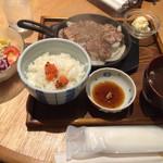 40892124 - 豚ステーキ定食