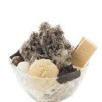 森乃園 - ほうじ茶かき氷