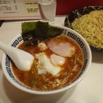 生駒軒 - 温ビビンつけ麺