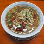 金太郎ラーメン - 料理写真:台湾ラーメン 大盛り(1.5玉)