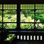 松籟庵 - 外の景色