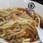 中華食堂一番館 - セットの「かけラーメン」