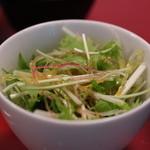 中国料理 吉珍樓 - ランチのサラダ