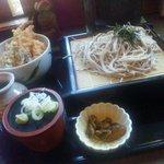 旬坊 - 天丼とせいろ蕎麦定食