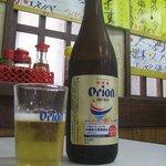 太栄食堂 - 沖縄特産のオリオンビール